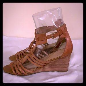 Franco sarto wedge sandals size 10